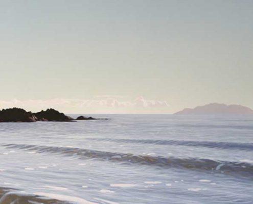Early Morning Wave - Tawharanui
