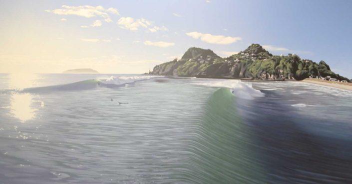 Commissions Tairua Waves