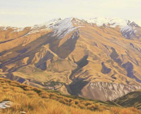 Paintings crown range detail
