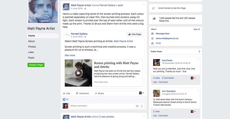 Matt Payne Facebook
