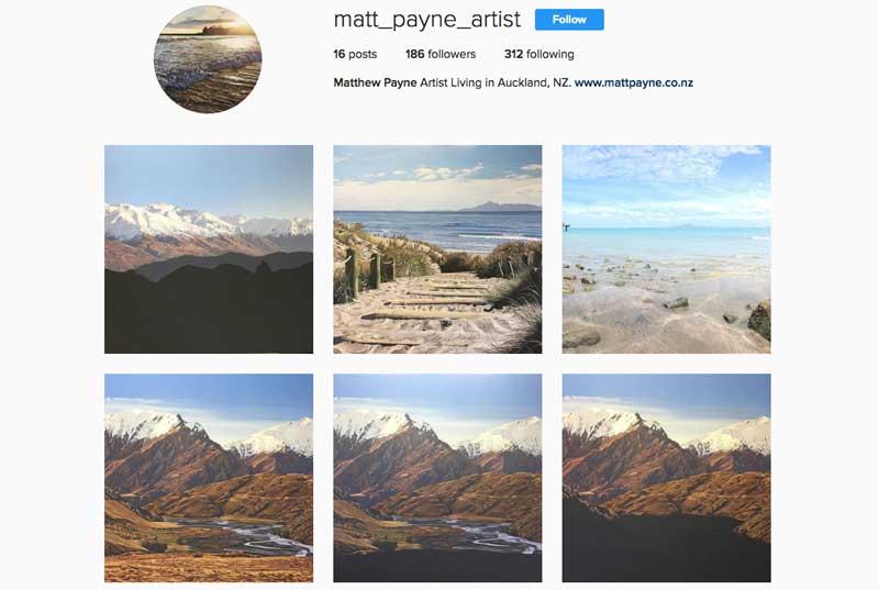 Instagram Matt Payne